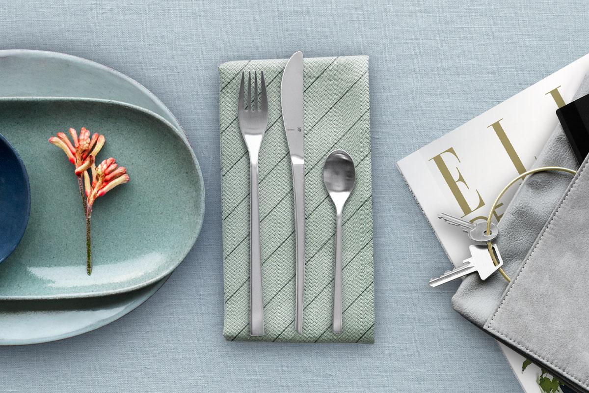 A tavola con l'interior design: Elle Decor incontra WMF