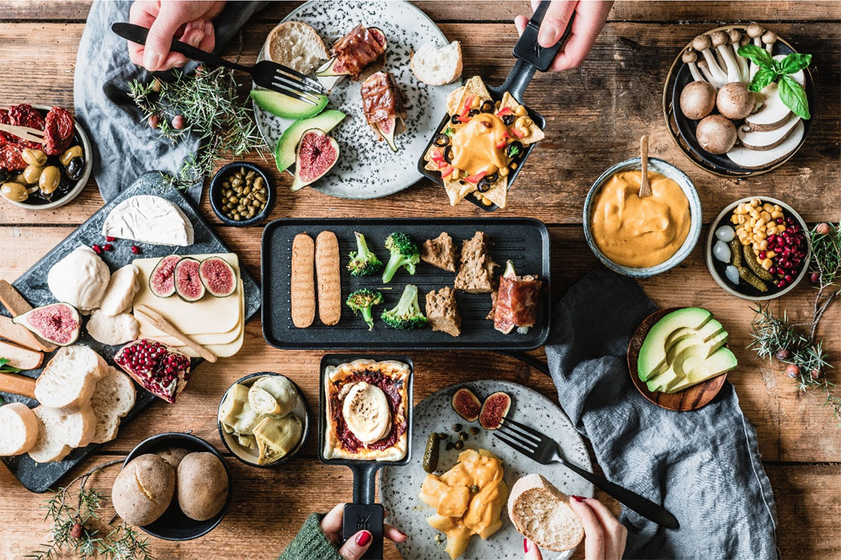 Raclette a tavola: prova la versione vegetariana