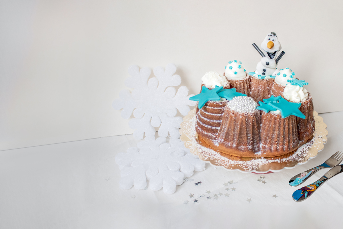 Frozen cake: la torta con Olaf di Cristina Nicolini