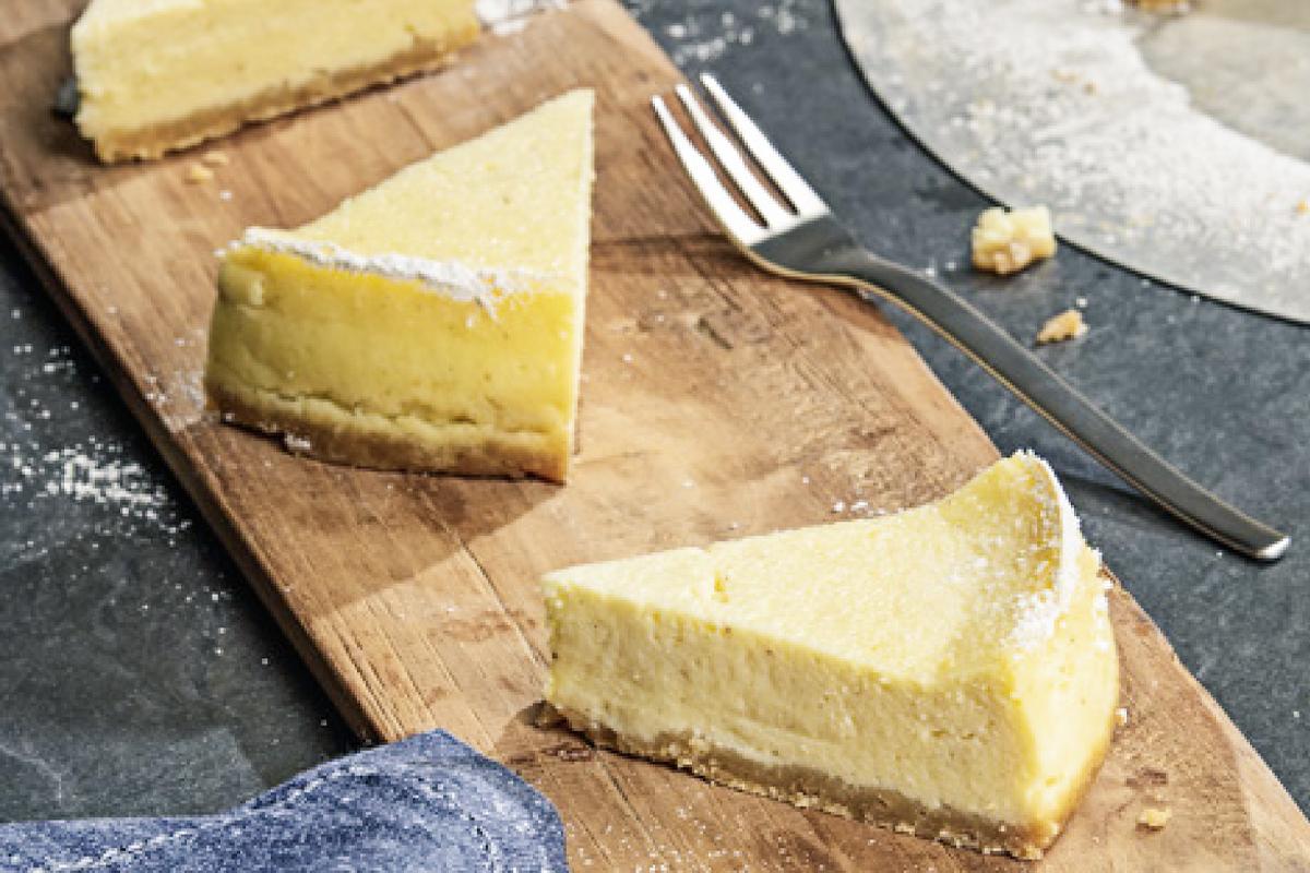 Cheesecake in metà tempo con la pentola a pressione