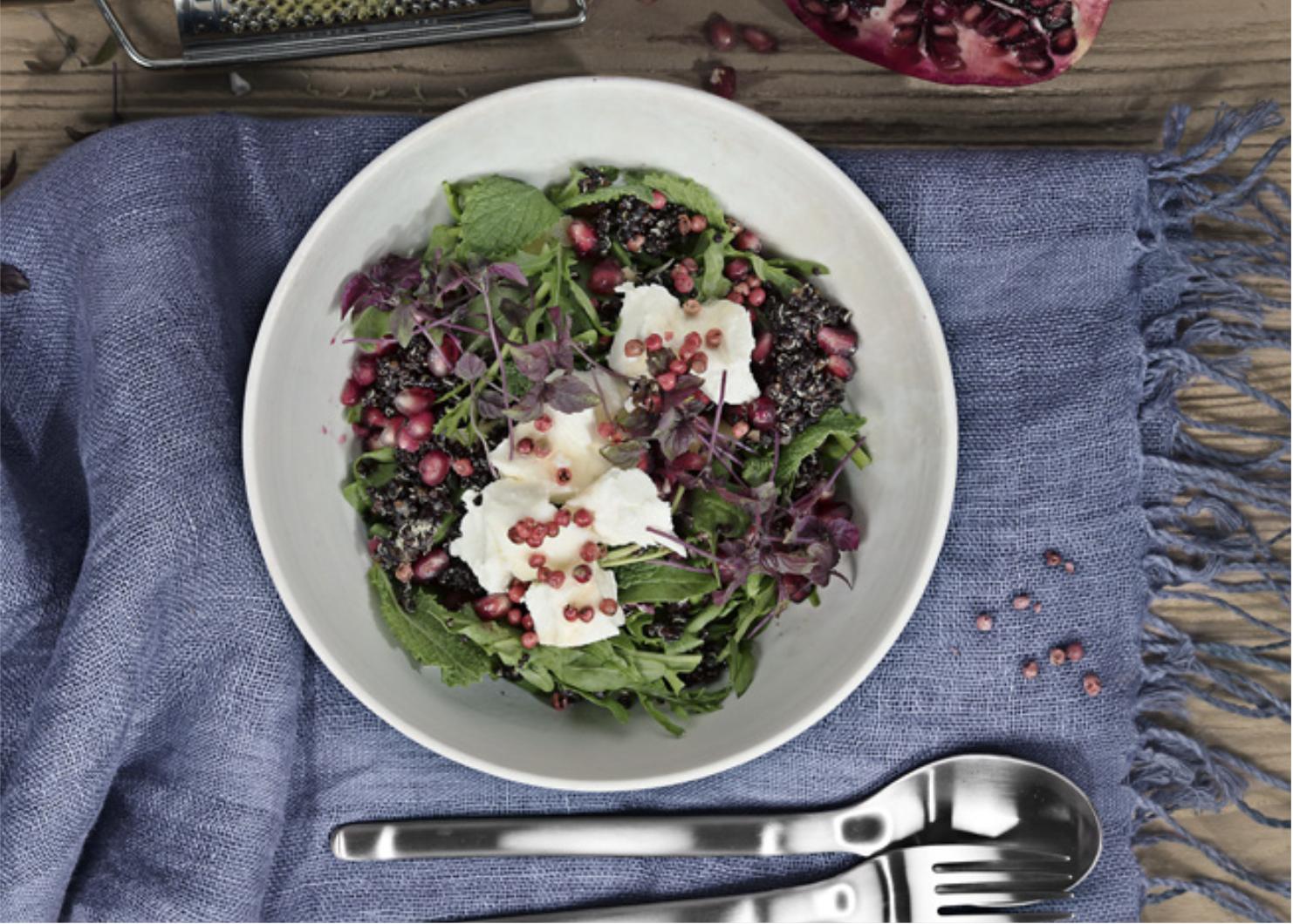 Insalata di quinoa light e saporita: il gusto di cucinare a luglio